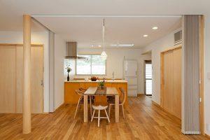 日沢T邸 二世帯住宅 キッチン